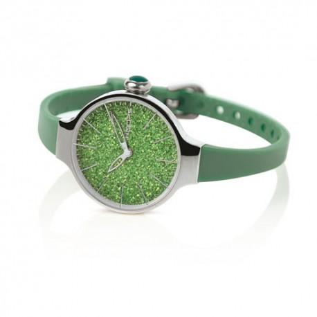 Hoops Orologio Chèrie Glitter Verde Smeraldo