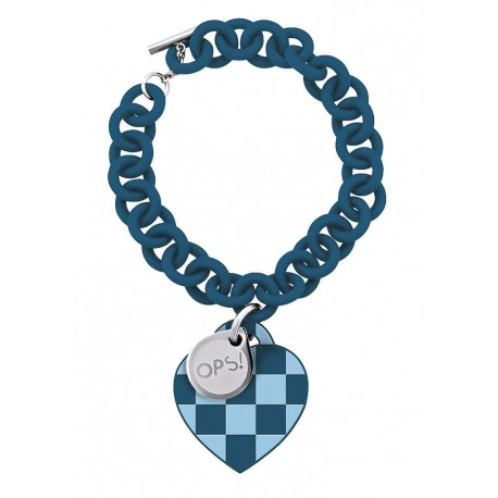 ops!Objects Bracciale Damier Blu